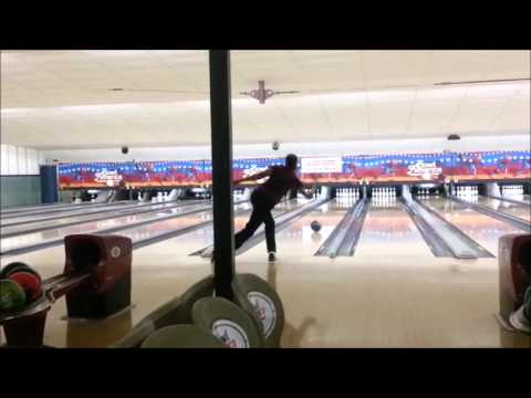 Shanell Overton 300 game 01-13-14 Night Shooters League at Bowl America Shirley