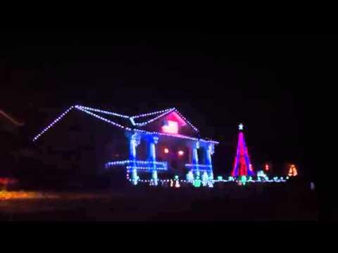 Christmas Lights & Music House - Rogers Arkansas