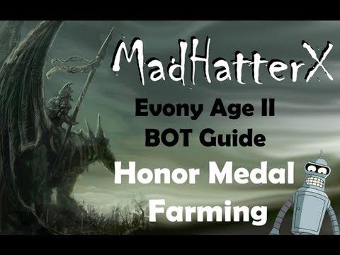 Evony Bot Honor Medal Farming Guide