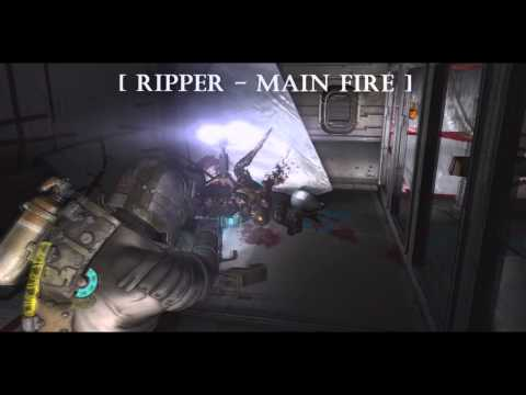 Dead Space 2 : ALL Weapons Test  Part 1