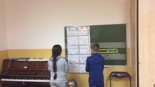 Ритмическая партитура на уроке сольфеджио