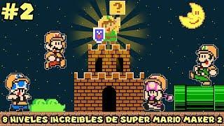Los 8 Niveles más INCREÍBLES y CREATIVOS en Super Mario Maker 2 (PARTE 2) - Pepe el Mago