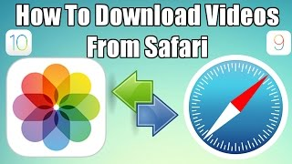 Download How To Download Videos From Safari To Camera Roll No Jailbreak  No Computer iOS 10 and TechnoTrend Mp3 and Videos