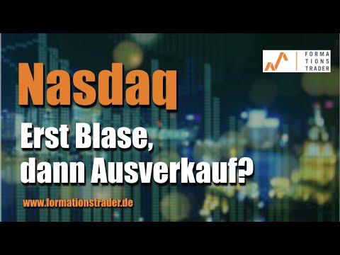 Nasdaq: Erst Blase, dann Ausverkauf?