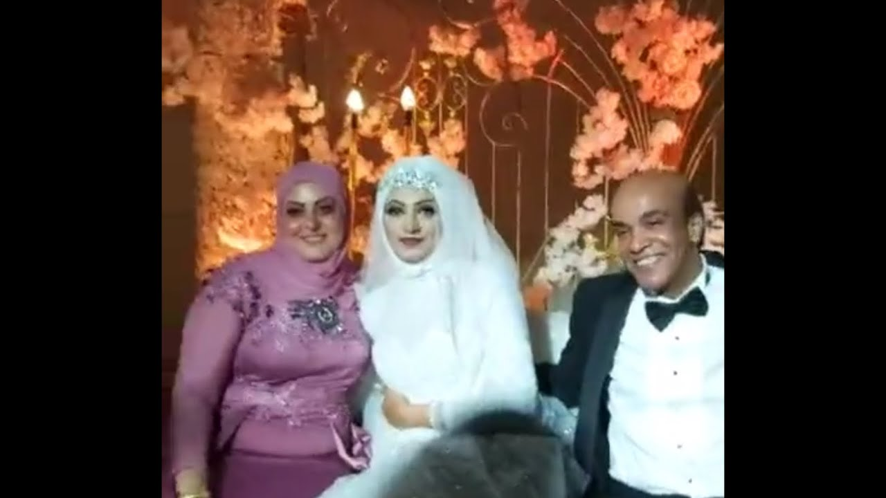 The wedding of his son, the artist Suleiman Eid, saw his very beautiful veiled wife and daughter - YouTube