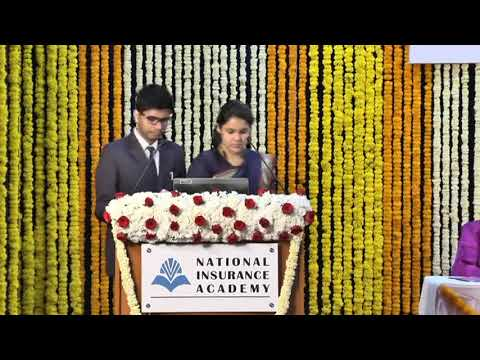 NIA PGDM Convocation 2016-2018 : Award of Medals and Address by Prof  G  Ramesh