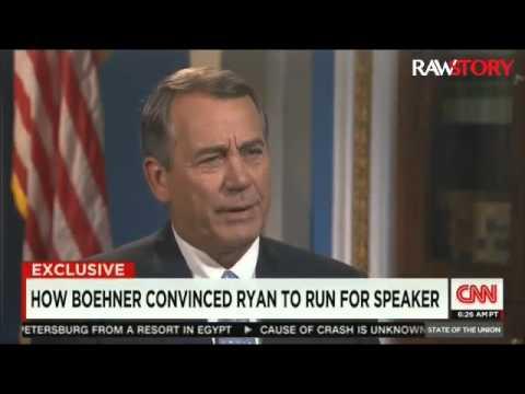 John Boehner: 'God told me' Paul Ryan should be Speaker