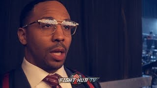 ANDRE WARD ON FIGHTING USYK