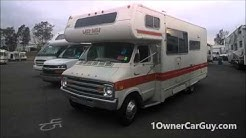 Recreational Vehicle Auction Wholesale Camper RV Equipment Sale Video