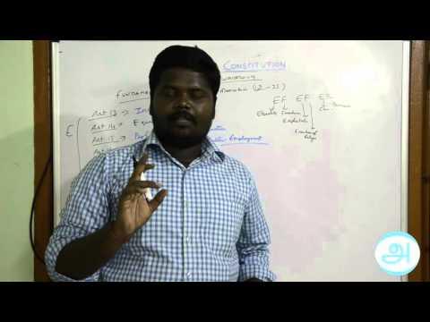 அடிப்படை உரிமைகள் 1. FUNDAMENTAL RIGHTS 1 (Art 12 - 24)__CSAT-2016__INDIAN POLITY IN TAMIL
