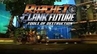 Ratchet & Clank Future Tools of Destruction - Press Start!