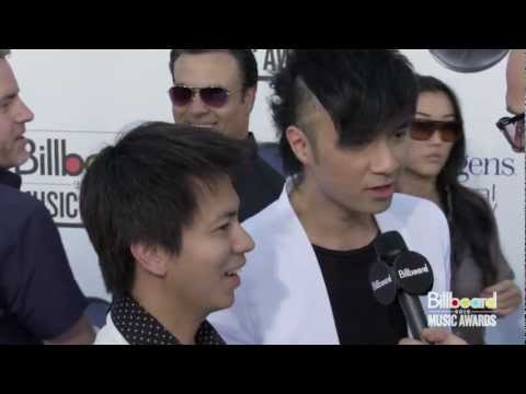 Leo Ku on the Red Carpet @ Billboard Music Awards 2012