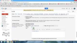 [Thủ Thuật] Hướng dẫn tạo hộp thư trả lời tự động cho Gmail