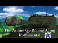 Girls und Panzer - Saunders - The Armies Go Rolling Along - OST
