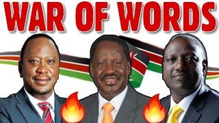 🔥WAR OF WORDS 🔥HOT POLITICAL EXCHANGE || KENYAN POLIMIX  EPISODE #001
