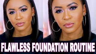 FULL COVERAGE FOUNDATION ROUTINE 2018 FOR OILY + COMBINATION SKIN ♡ Fayy Lenee Beauty