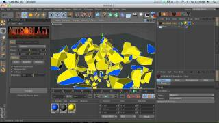 Cinema 4D Tutorial: NitroBlast Plugin Overview 1(In the first of a series of Cinema 4D Nitroblast tutorials, I'm going to go over the basics of this can't miss plugin., 2011-11-23T18:20:41.000Z)