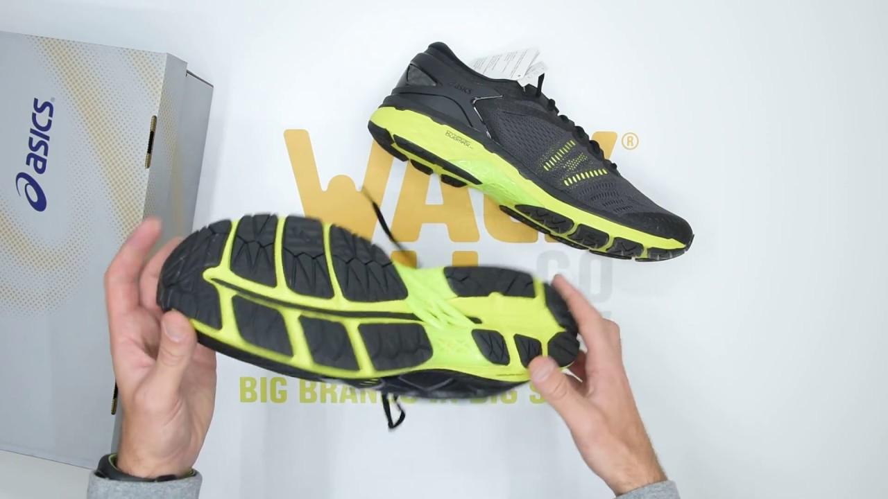 9c88c009c49b Asics Gel-Kayano 24 - Black Green - Unboxing | Walktall - YouTube