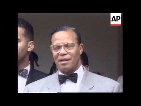SOUTH AFRICA: LOUIS FARRAKHAN'S MEETING WITH PRESIDENT MANDELA