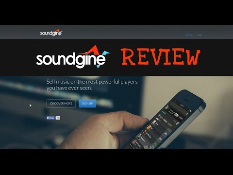 Soundgine Music Player REVIEW | Sell Beats, Albums & Singles Online