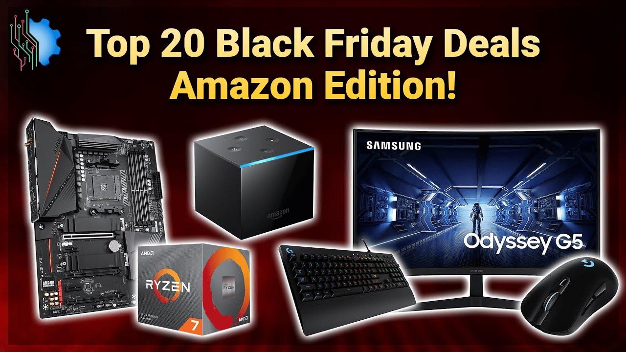 Top 20 Black Friday Deals Amazon Edition 2020 Youtube