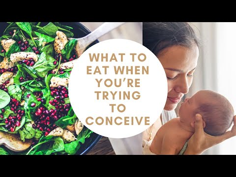 Key nutrients to eat when you're trying to conceive !