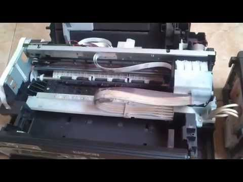 Cara Mengganti Roll Printer Epson L210 Youtube