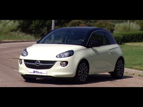 opel adam glam 1 4 100cv youtube. Black Bedroom Furniture Sets. Home Design Ideas