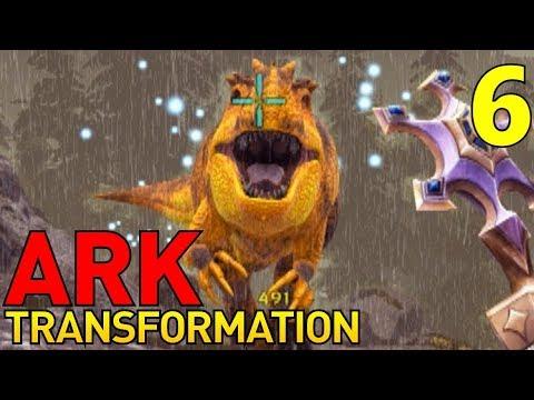 [6] Beta Giganotosaurus Taming! (Let's Play ARK Transformation Multiplayer)