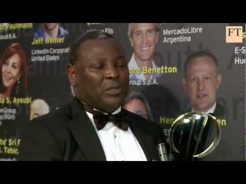 James Mwangi: world entrepreneur of the year
