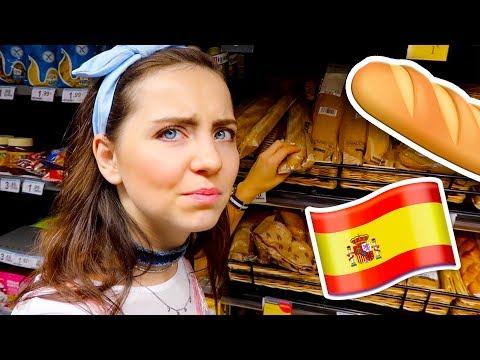 Visitando un SUPERMERCADO EN ESPAÑA ★ Ale Ivanova en Madrid