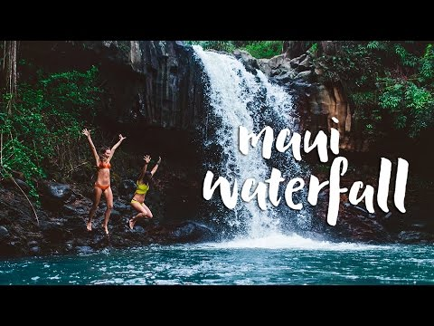 Secret Maui Waterfalls and I Lost my Passport!