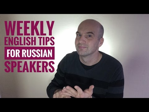 English for Russian Speakers - Ten Common Preposition Mistakes (with  subtitles) - Duration: 7:03.