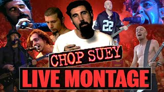 System Of A Down - Chop Suey! LIVE MONTAGE (2001-2014)