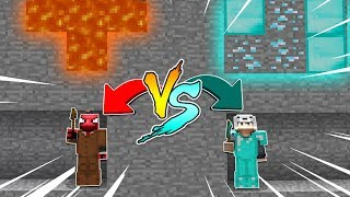 ZENGİN VS FAKİR (MADEN YARIŞMASI)! 😱 - Minecraft