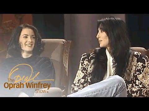 Young Winona Ryder on Working with Cher  The Oprah Winfrey   Oprah Winfrey Network