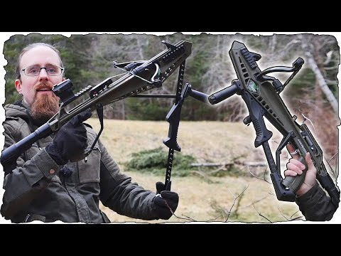 Cold Steel Cheap Shot 130 Crossbow - Fast and Fun!