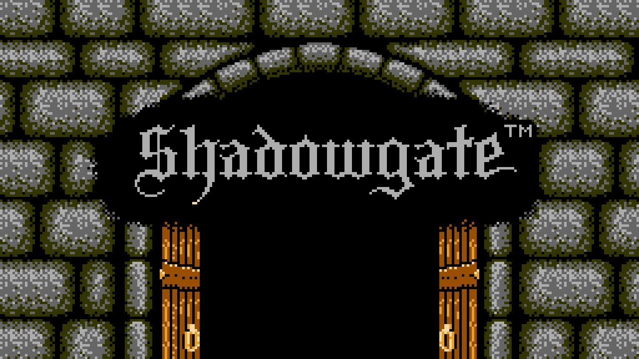 Shadowgate for the Nes Complete Walkthrough - YouTube