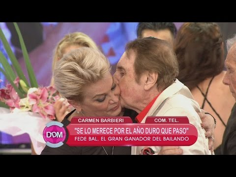 Carmen Barbieri, sobre Santiago Bal: Está bajando los brazos