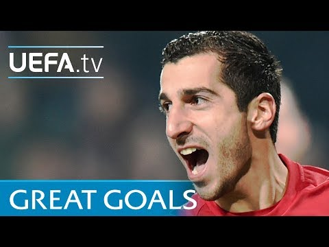 Henrikh Mkhitaryan - Five Great Goals