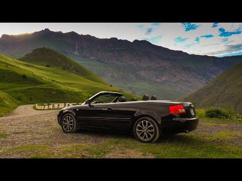 ИЗМЕНЕНИЯ НА КАНАЛЕ! На кабриолете по горам. Audi A4