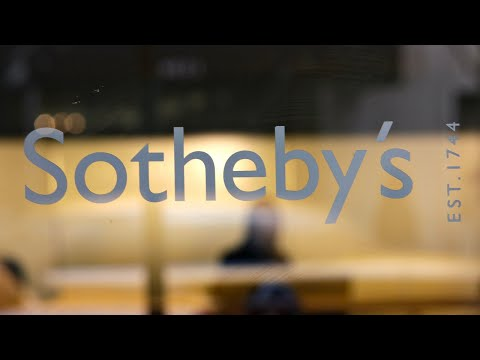 WATCH: Sotheby's auction house hosts first live auction in London since coronavirus pandemic began