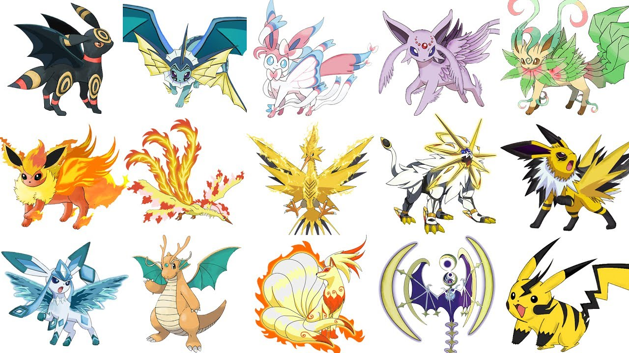 Pokemon Mega Evolutions That You Wish Existed Compilation