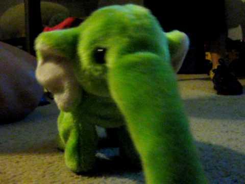 Pink Elephant Dog Toy