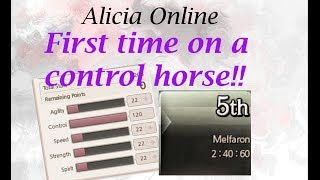 Alicia Online - Speed Horse Racer Riding 120 Control Horse