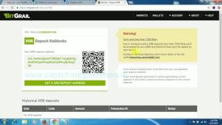 HOW TO EXCHANGE XRB TO BTC IN BITGRAIL || XRB TO BTC EXCHANGE