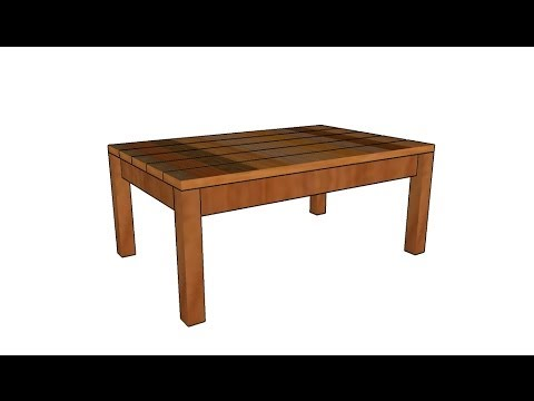 Outdoor Coffee Table Plans Youtube