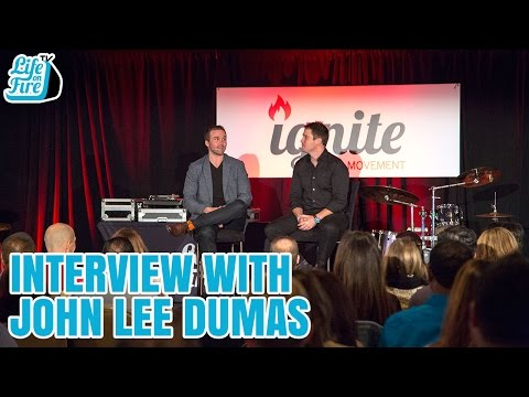 142: Interview with John Lee Dumas From Ignite