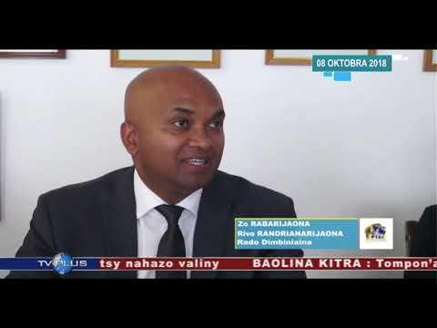 VAOVAO DU 08 OCTOBRE 2018 BY TV PLUS MADAGASCAR