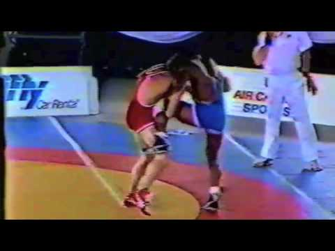 1988 Canada Cup: 74 kg Final Dan St. John (USA) vs. Gary Holmes (CAN)